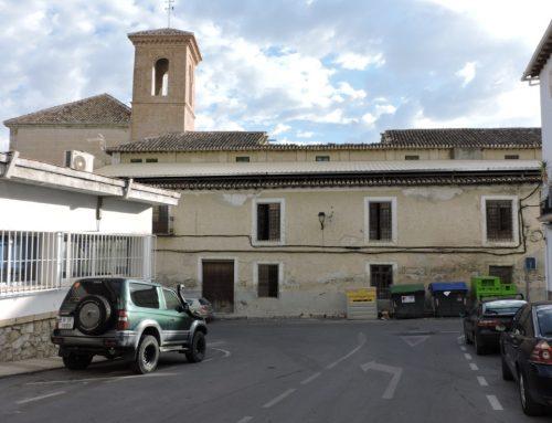 La Junta dice que protege el convento de San Jerónimo con su declaración como BIC mientras permite que se acelere su ruina, no cubriendo parte del recinto conventual y dejando que sigan los hundimientos en la almazara de los Jerónimos