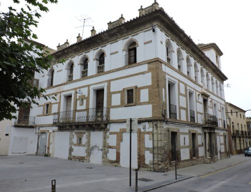 SOS, NUEVOS DESPLOMES EN EL PALACIO DE LOS MARQUESES DE CADIMO, UN BIC INCOADO